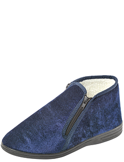Dunlop Twin Zip Thermal Lined Slipper