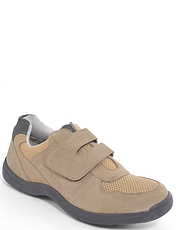 Suede Touch Fasten Travel Shoe.