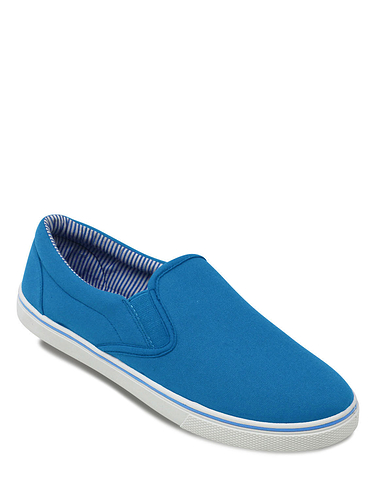 Pegasus Canvas Slip on Shoe