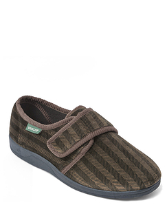 Dunlop Slipper With Slip Resistant Outdoor Sole