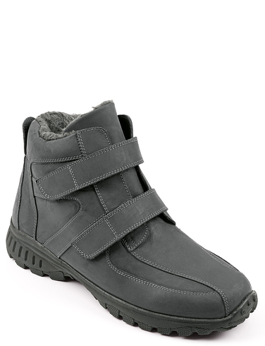 Leather Thermal Lined Touch Fasten Boot