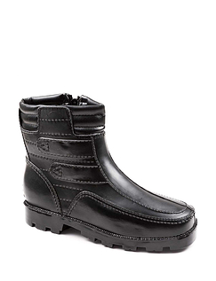 Thermal Lined Waterproof Boot - Black