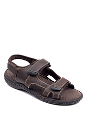 Dr Keller Leather Wide Fit Sandal