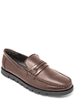 Leather Moccasin With Flexi Sole