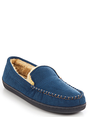 Dr Keller Wide Fit Faux Suede Slipper
