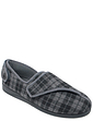 Padders Mens Extra Wide G Fit  Slipper