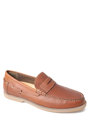 Leather Slip On Loafer