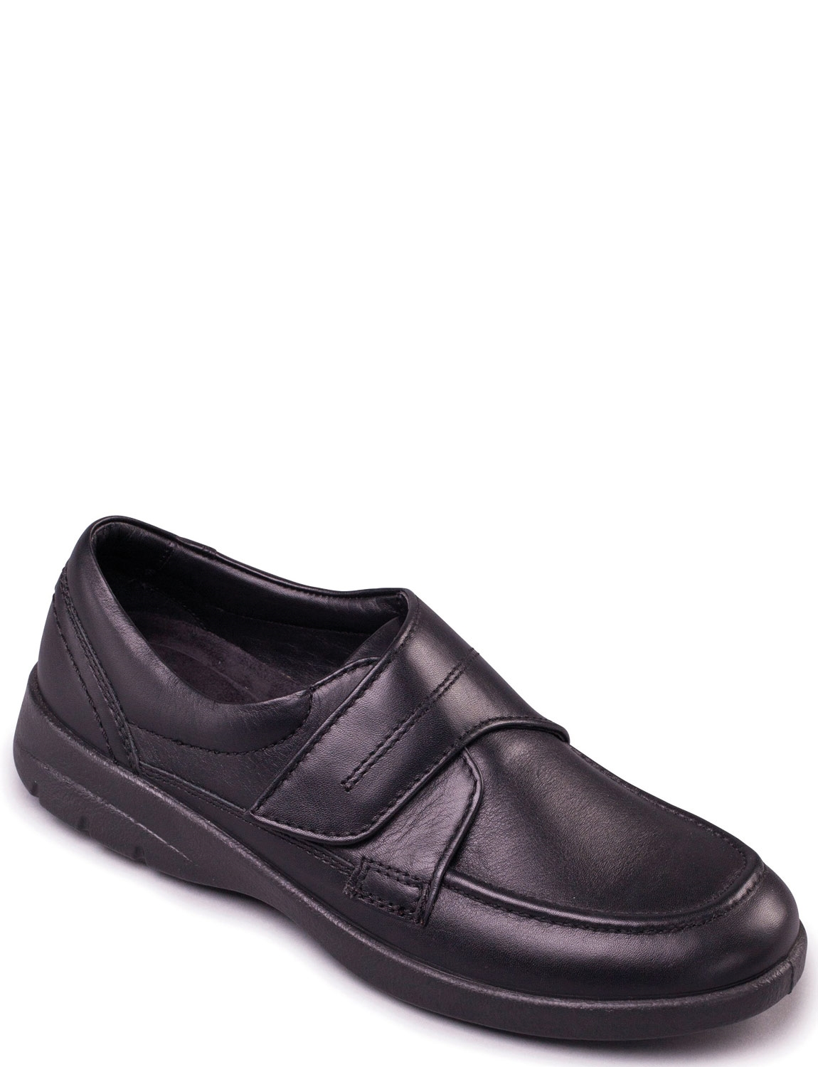 70c230dfb3ebf Padders Solar Extra Wide Leather Dual Fit Touch Fasten Shoe | Chums