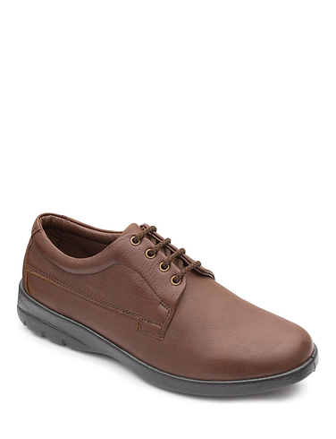 Padders Lunar Extra Wide Dual Fit Leather Lace Shoe