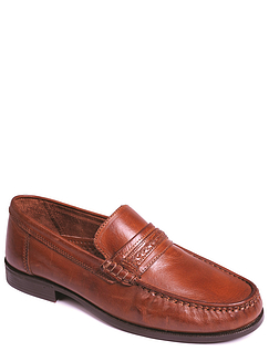 Leather Slip-On Moccasin