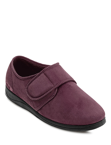 Padders Men's Extra Wide 'G' Fit Slipper