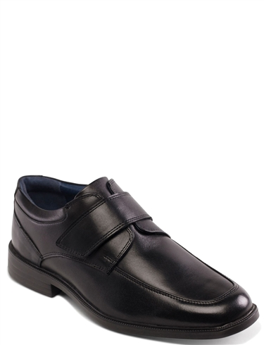 Mens Padders Brent Wide G Fit Touch & Close Shoe