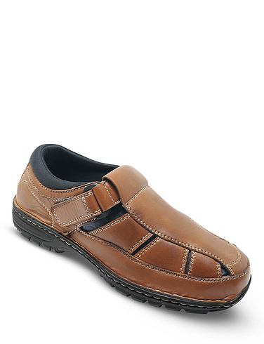 Leather Sandal Shoe