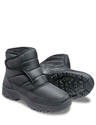 Men's Cushion Walk Wide Fit Snow Boot