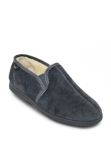 Dr Keller Mens Denton Wide Fit Slipper