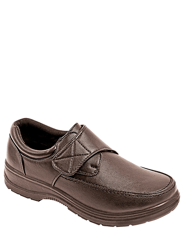 Touch Fasten Wide Fit Comfort Shoe