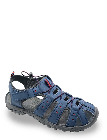 Mens Wide Fit Walking Sandal