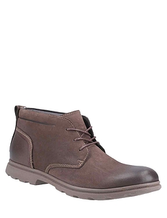 Mens Hush Puppies Chukka Boot - Brown