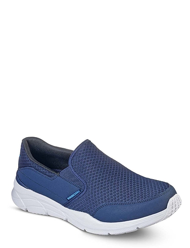 Skechers Mens Wide Fit Slip on Shoe Equalizer 4.0