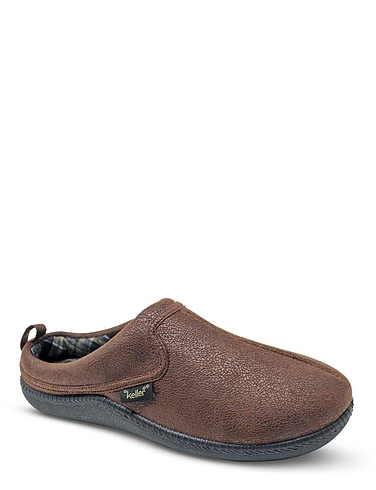 Dr Keller Wide Fit Mule Slipper
