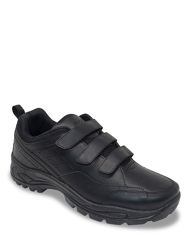 Wide Fit Touch Fasten Walking Shoe