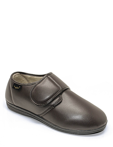 Dr Keller Vinyl Wide Fit Slipper