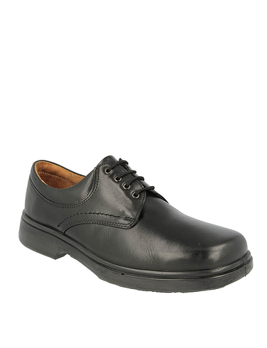 Mens DB Shoes Shannon Leather Extra Wide 4E Lace Shoe