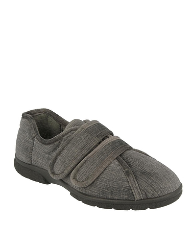 Mens DB Shoes House Slipper Extra Wide EE-4E