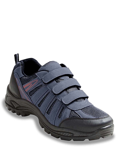 Standard Fit Touch Fasten Walking Shoes