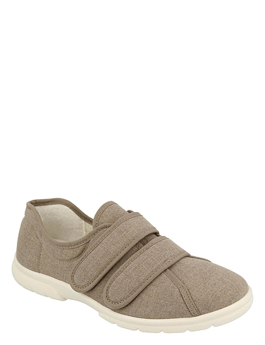 Twin Touch Fasten Canvas Extra Wide EE-4E DB Shoe Harris