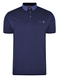 Polo Shirt With Button Down Printed Collar & Chest Pocket
