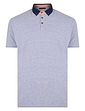 Short Sleeve Pique Polo Contrast Collar
