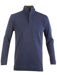 Bar Harbour Quarter Zip Pique Sweater