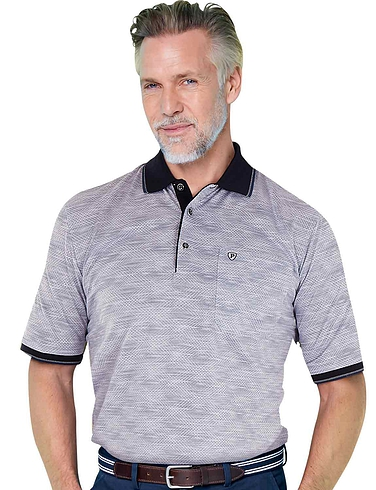 Pegasus All Over Print Polo