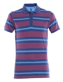 Old Salt Stripe Polo
