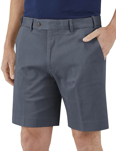 Skopes Biaritz Stretch Cotton Hopsack Chino Shorts