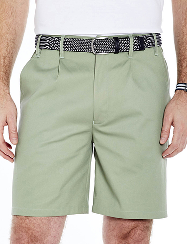 Stain Resistant High Rise Shorts with Extra 2 inches