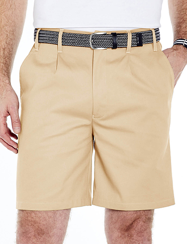 Stain Resistant Easy Care High Rise Shorts
