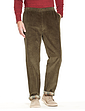 Drawcord Lined Cord Trouser