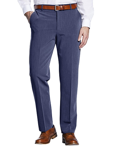 Farah Four Way Stretch Poly Trouser with Slant Pocket