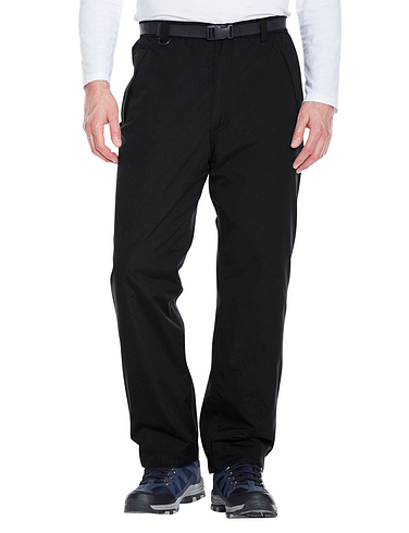 Waterproof Fleece Lined Trouser With Taped Seams & Free Belt