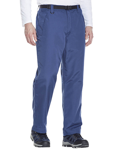 Waterproof Fleece Lined Trouser with Taped Seams & Belt