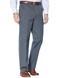 Wool Blend Trousers