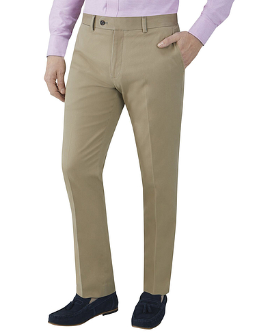 Skopes Antibes Stretch Cotton Hopsack Chino Trousers