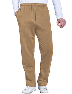Easy Pull On Fleece Leisure Trouser - Taupe