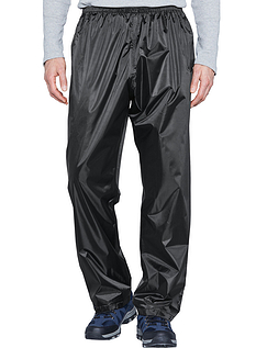 Mens Waterproof Trousers - Black