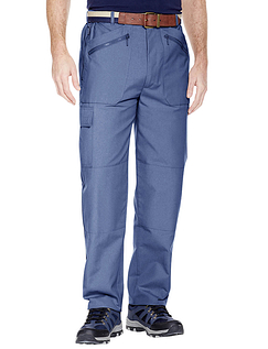 Multi Zip Pocket Action Trouser - Airforce