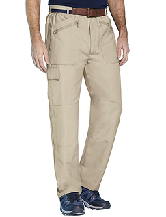 Multi Zip Pocket Action Trouser