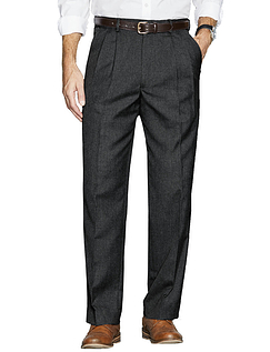 Regular Rise Hidden Extra Waistband Trousers