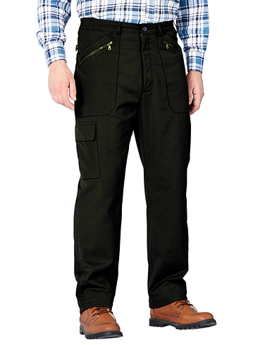 271ce6daf2bd2 Mens Thermal & Fleece Lined Trousers - Chums
